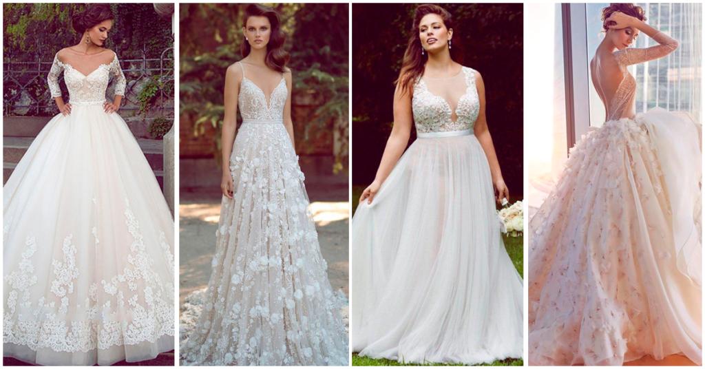 como escoger el vestido de novia según su tipo de cuerpo – cosas de boda